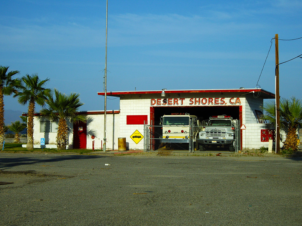 Desert shores fire department
